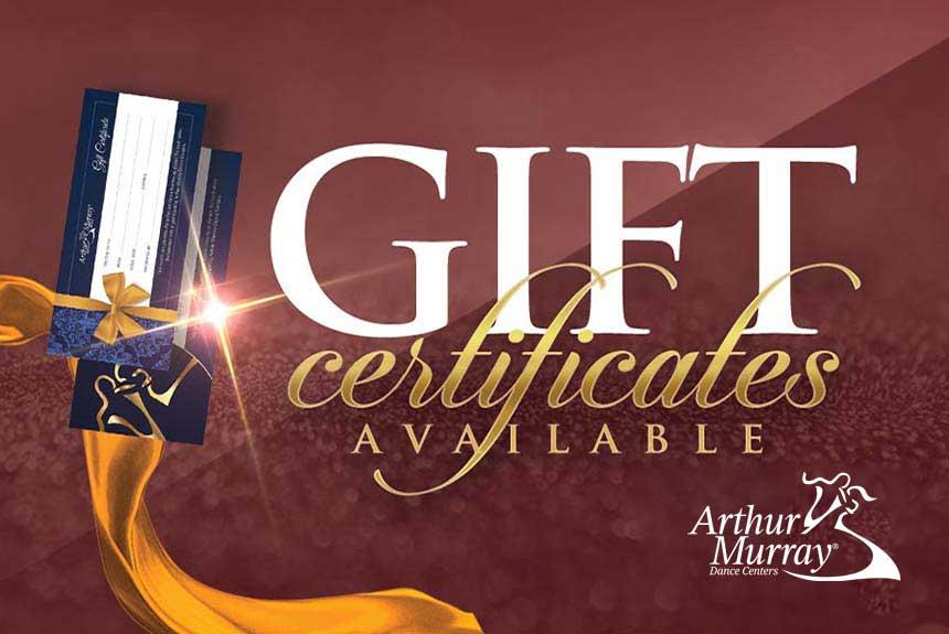 Arthur Murray Crofton Gift Certificates